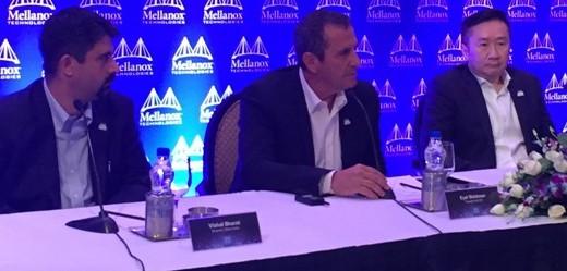 Mellanox Press Conference- picture